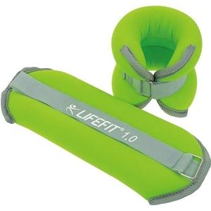 Greutati DHS 520FZATNA0202, 2 x 1 kg, verde-gri