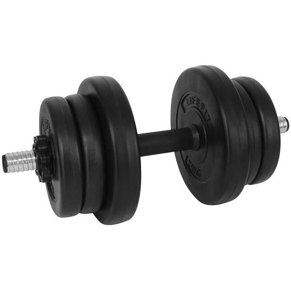 Gantera DHS 529FVISET1001, 15 kg, negru