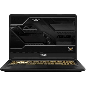"Laptop Gaming ASUS TUF FX705DU-H7087, AMD Ryzen 7 3750H pana la 4GHz, 17.3"" Full HD, 8GB, SSD 512GB, NVIDIA GeForce GTX 1660Ti 6GB, Free DOS, Gold Steel"