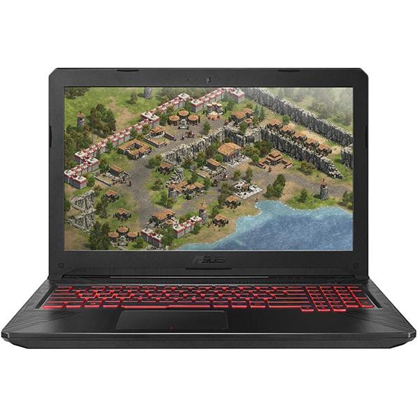 "Laptop Gaming ASUS FX504GE-EN619, Intel Core i7-8750H pana la 4.1GHz, 15.6"" Full HD, 8GB, HDD 1TB + SSD 256GB, NVIDIA GeForce GTX 1050 Ti 4GB, Free Dos, Metal Gun"