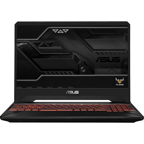 "Laptop Gaming ASUS TUF FX505GM-BQ358, Intel® Core™ i5-8300H pana la 3.9GHz, 15.6"" Full HD, 8GB, HDD 1TB + SSD 128GB, NVIDIA GeForce GTX 1060 6GB, Free Dos"