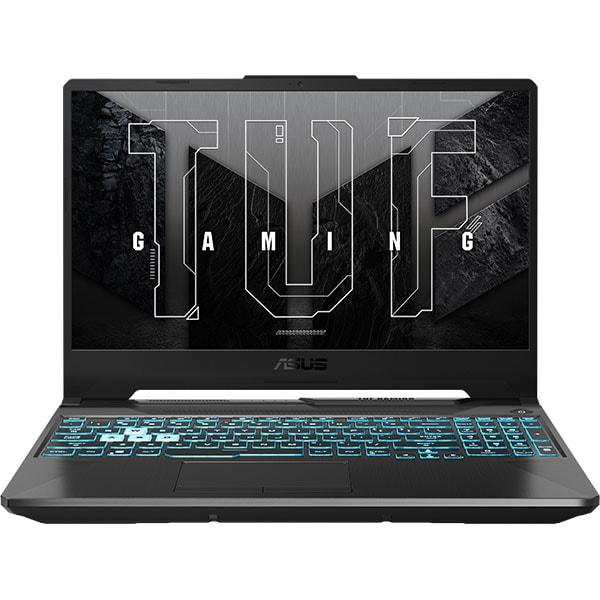 "Laptop Gaming ASUS TUF F15 FX506HM-HN014, Intel Core i7-11800H pana la 4.6GHz, 15.6"" Full HD, 16GB, SSD 1TB, NVIDIA GeForce RTX 3060 6GB, Free DOS, negru"
