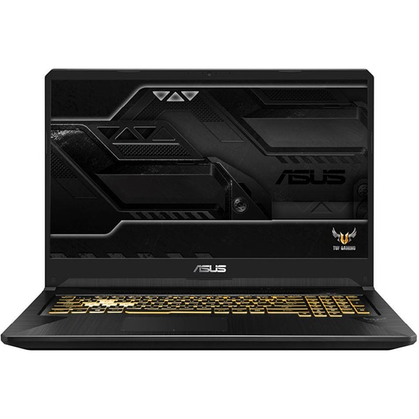 "Laptop Gaming ASUS TUF FX705DU-AU024, AMD Ryzen 7-3750H pana la 4GHz, 17.3"" Full HD, 8GB, SSD 512GB, NVIDIA GeForce GTX 1660Ti 6GB, Free DOS, Gold Steel"