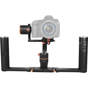 Stabilizator pentru aparate mirrorless si DSLR Gimbal FEIYUTECH FY-A2000 Dual, 3 axe, doua manere, negru