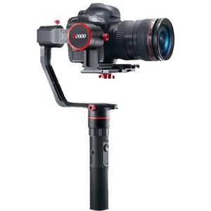 Stabilizator pentru aparate mirrorless si DSLR Gimbal FEIYUTECH FY-A2000 Dual, 3 axe, negru