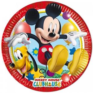 Farfurie din gama Clubul lui Mickey, 8 bucati/set