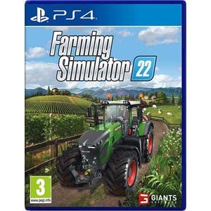 Farming Simulator 22 PS4 + bonus precomanda Claas Xerion Saddle Trac Pack