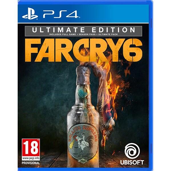 Far Cry 6 Ultimate Edition PS4 + bonus precomanda