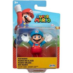 Figurina JAKKS PACIFIC World Of Nintendo Super Mario- Ice Mario 404584-40550I, 6 ani+, multicolor