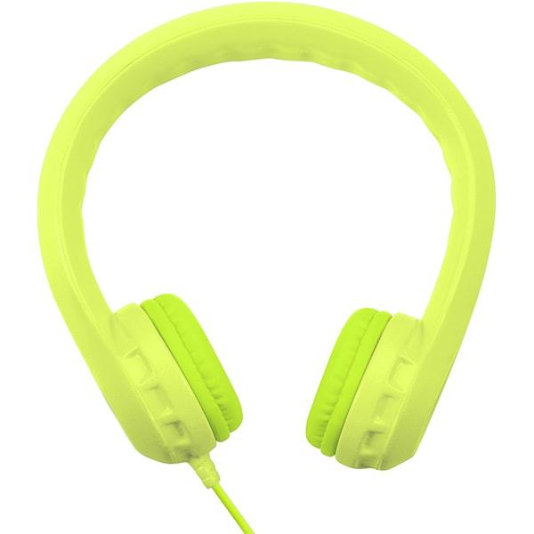 Casti pentru copii PROMATE Flexure, Cu Fir, On-Ear, verde