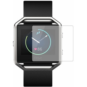 Folie protectie pentru FitBit Blaze, SMART PROTECTION, display, 2 folii incluse, polimer, transparent