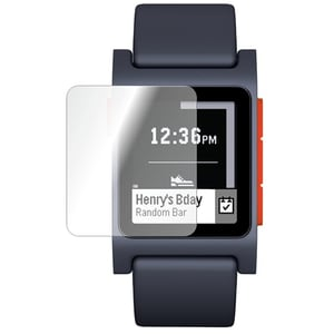 Folie protectie pentru Pebble 2 HR, SMART PROTECTION, display, 2 folii incluse, polimer, transparent