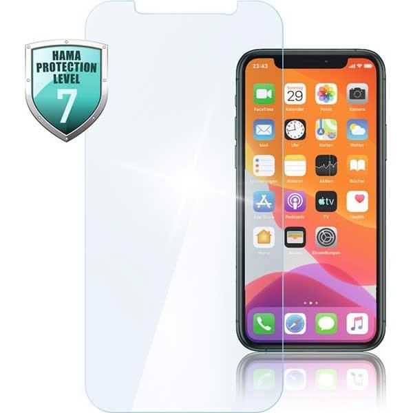 Folie Tempered Glass pentru Apple iPhone 12 Pro Max, HAMA 188678, display, transparent