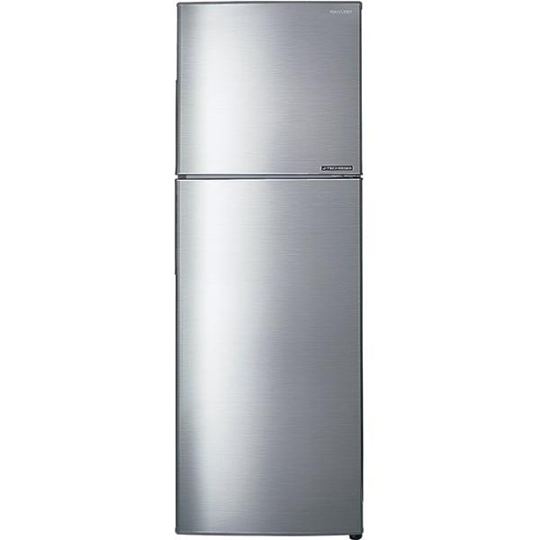 Frigider cu doua usi SHARP SJ-X300SL, Hybrid Cooling, 224 l, H 156 cm, Clasa A++, argintiu