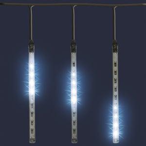 Decoratiune de Craciun cu LED HOME G 550, decor sloi de gheata, 1.6m