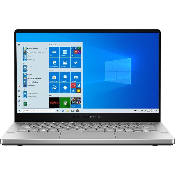 "Laptop Gaming ASUS ROG Zephyrus G14 AniMe Matrix GA401IV-HE135T, AMD Ryzen 9 4900HS pana la 4.3GHz, 14"" Full HD, 16GB, SSD 1TB, NVIDIA GeForce RTX 2060 Max-Q 6GB, Windows 10 Home, alb"