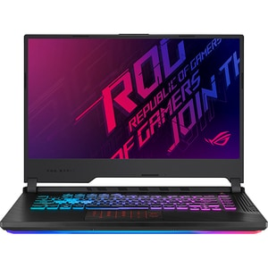 "Laptop Gaming ASUS ROG Strix G531GW-AL099, Intel Core i7-9750H pana la 4.5GHz, 15.6"" Full HD, 16GB, SSD 512GB, NVIDIA GeForce RTX 2070 8GB, Free Dos, Negru"