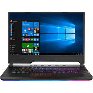 "Laptop Gaming ASUS ROG Strix Scar lll G531GW-AZ301T, Intel Core i9-9880H pana la 4.8GHz, 15.6"" Full HD, 16GB, SDD 1TB, NVIDIA GeForce RTX 2070 8GB, Windows 10 Home, Gunmetal"