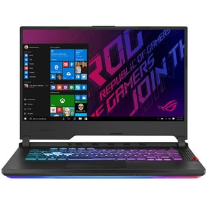 "Laptop Gaming ASUS ROG Strix G G531GV-AL027T, Intel Core i7-9750H pana la 4.5GHz, 15.6"" Full HD, 16GB, SSD 512GB, NVIDIA GeForce RTX 2060 6GB, Windows 10 Home, Negru"