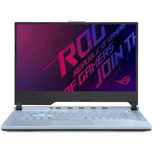 "Laptop Gaming ASUS ROG Strix G G531GT-AL4391, Intel Core i7-9750H pana la 4.5GHz, 15.6"" Full HD, 16GB, SSD 1TB, NVIDIA GeForce GTX 1650 4GB, Free DOS, Glacier Blue"