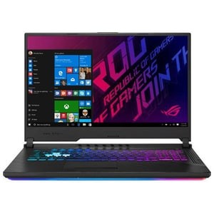 "Laptop Gaming ASUS ROG Strix G G731GV-EV041T, Intel Core i7-9750H pana la 4.5GHz, 17.3"" Full HD, 16GB, SSD 512GB, NVIDIA GeForce RTX 2060 6GB, Windows 10 Home, negru"