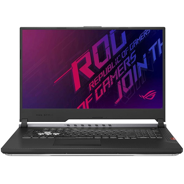 "Laptop Gaming ASUS ROG Strix Scar III G731GV-EV018, Intel Core i7-9750H pana la 4.5GHz, 17.3"" Full HD, 16GB, HDD 1TB + 512GB SSD, NVIDIA GeForce RTX 2060 6GB, Free Dos, Negru"