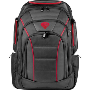 """Rucsac laptop gaming NATEC Genesis Pallad 500, 17.3"""", negru-rosu"""