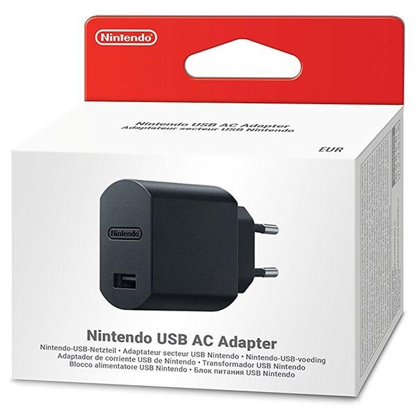 Adaptor USB AC NINTENDO, negru