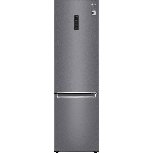 Combina frigorifica LG GBB62DSHMN, No Frost, 384 l, H 203 cm, Clasa E, inox