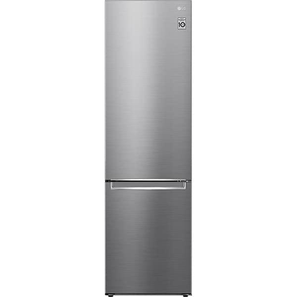 Combina frigorifica LG GBB62PZJMN, No Frost, 384 l, H 203 cm, Clasa E, argintiu