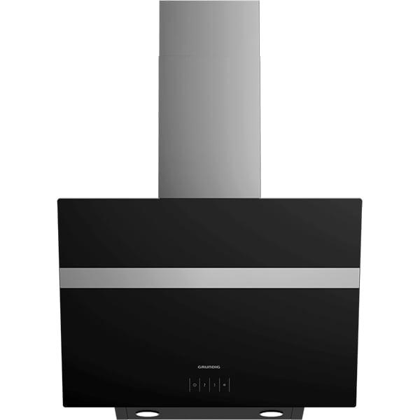 Hota decorativa GRUNDIG GDS2460B, 1 motor, 632 m3/h, L 60 cm, negru