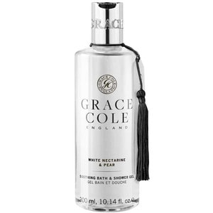 Gel de dus GRACE COLE White Nectarine&Pear, 300ml