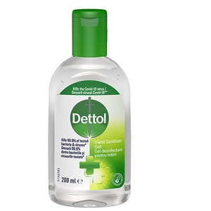 Gel dezinfectant pentru maini DETTOL, 200ml