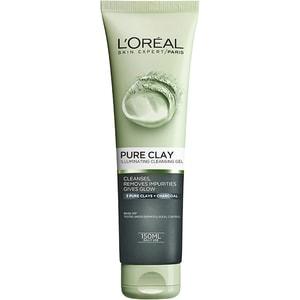 Gel de curatare iluminator L'OREAL PARIS Pure Clay, 150ml