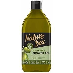 Gel de dus NATURE BOX Olive Oil, 385ml