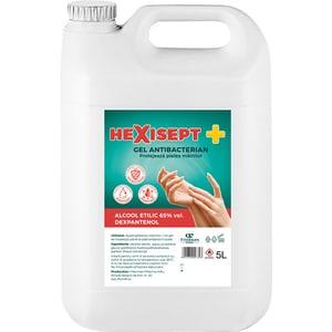 Gel dezinfectant pentru maini HEXISEPT+, 5000ml