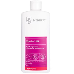 Dezinfectant lichid pentru maini si suprafete MEDISEPT Velodes Silk, 500ml