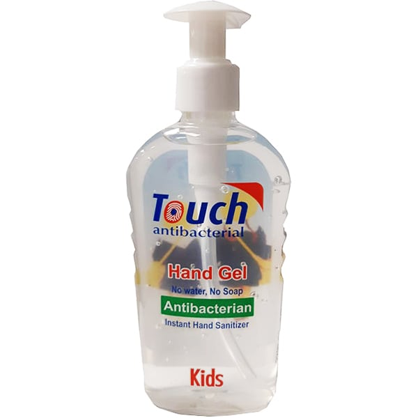 Gel dezinfectant pentru maini TOUCH Kids antibacterial, 220ml