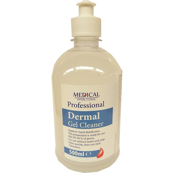 Gel igienizant pentru maini MEDICAL Cristal Clean B, 500ml