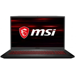 "Laptop Gaming MSI GF75 Thin 10SER-295XRO, Intel Core i7-10750H pana la 5.0GHz, 17.3"" Full HD, 16GB, SSD 512GB, NVIDIA GeForce RTX 2060 6GB, Free DOS, negru"