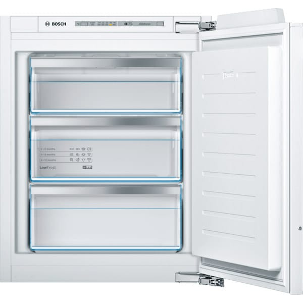Congelator incorporabil BOSCH GIV11AFE0, 72 l, H 71.2 cm, Clasa E, alb