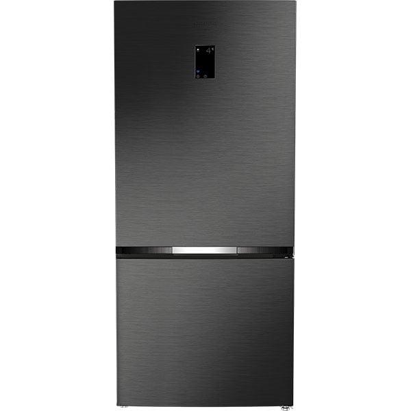 Combina frigorifica GRUNDIG GKN283740HXRN, Cool Plus, 615 l, H 191.5 cm, Clasa E, Wi-Fi, dark inox