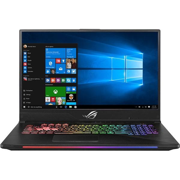"""Laptop Gaming ASUS ROG Strix Scar II GL704GW-EV020R, Intel Core i7-8750H pana la 4.1GHz, 17.3"""" Full HD, 32GB, SSHD 1TB + SSD 256GB, NVIDIA GeForce RTX 2070 8GB, Windows 10 Pro, Gun Metal"""