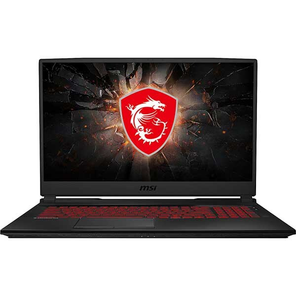 "Laptop Gaming MSI GL75 9SE-211XRO, Intel Core i7-9750H pana la 4.5GHz, 17.3"" Full HD, 16GB, SSD 512GB, NVIDIAGeForce RTX 2060 6GB, Free Dos, Negru"