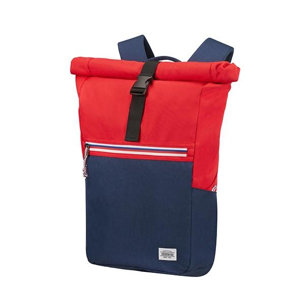"Rucsac laptop AMERICAN TOURISTER UpBeat 004, 14.1"", rosu-albastru"