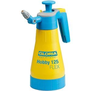 Pulverizator GLORIA Hobby 125 Flex, 1.25L, 3 bar, duza reglabila si rotativa, garnituri NBR, galben
