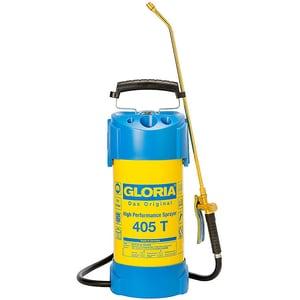 Pompa de stropit GLORIA 405 T, 5L, 6 bar, furtun 1.35m, filtru suplimentar, garnituri NBR, galben