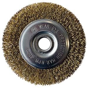 Perie GLORIA Joint Brush, pentru curatarea rosturilor, auriu
