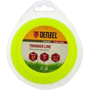 Fir trimmer DENZEL 961087, rotund, 2.4 mm x 15 m, Flex Cord