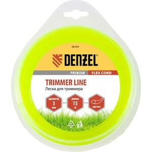 Fir trimmer DENZEL 961097, rotund, 3.0 mm x 15 m, Flex Cord